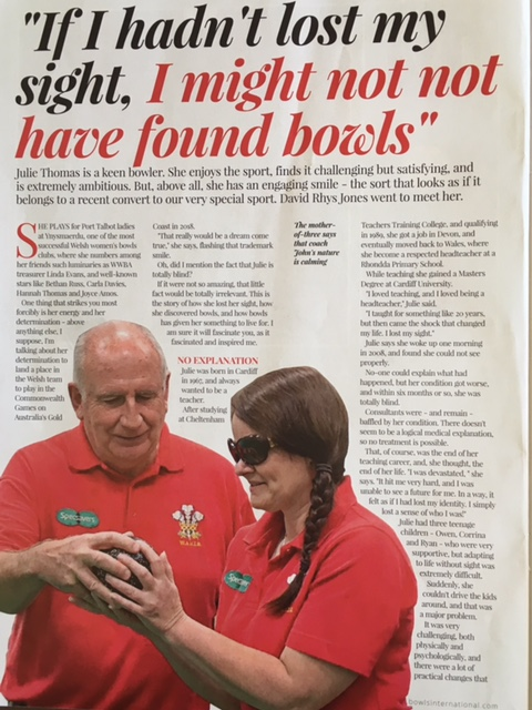Bowls International article